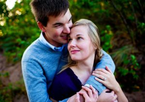 Engagement photos in Duluth, Minnesota