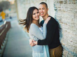 Engagement photos in Minneapolis, Minnesota