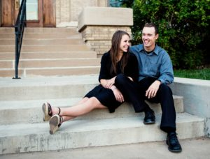 Engagement Photos in Canal Park in Duluth