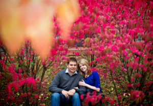 Fall engagement photos in Duluth, Minnesota