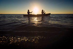 Engagement photos on Lake Superior